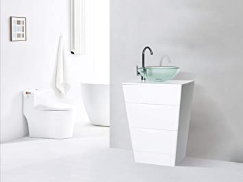 Mobili Da Bagno Bianco Lucido : Mobile bagno a terra betrix arredo design online