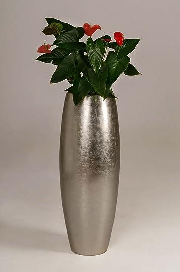 Exklusive Pflanzkübel pflanzkübel pflanzgefäß blumenkübel exklusiv fiberglas gold magnum