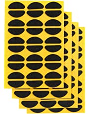 Eyeglass Nose Pads Adhesive Thin Non-Slip Foam Nose Pads Black 60 Pairs