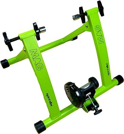 Expositor pieza – Mag Sprinter bicicleta bicicleta de rodillo de entrenamiento sin Cambio de marchas para 26 – 28, hasta 120 kg de carga, para Indoor Ciclismo en casa, acero: Amazon.es: Deportes y aire libre