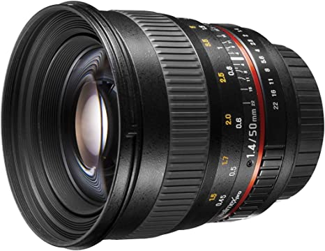 walimex pro 20391 - Objetivo para Canon EOS (Distancia Focal 1.4 ...
