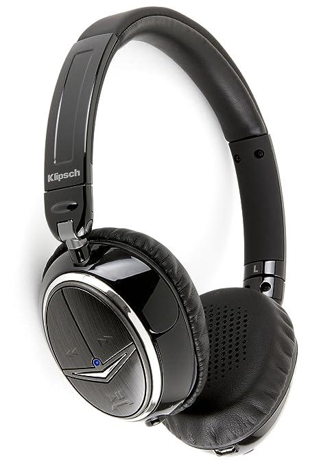 Klipsch Image One - Auriculares de diadema cerrados (Bluetooth), negro y plateado