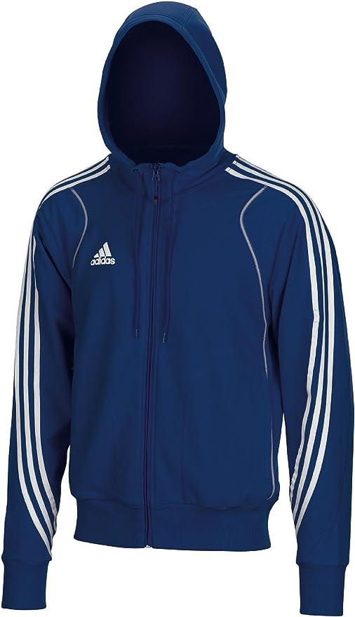 Adidas Men's T8 Team Hoody Blue E19766 blue blue Size:XXL