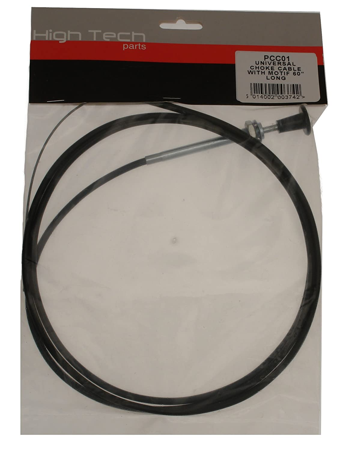 60in. Standard Pull Lock High Tech Parts Choke Cable