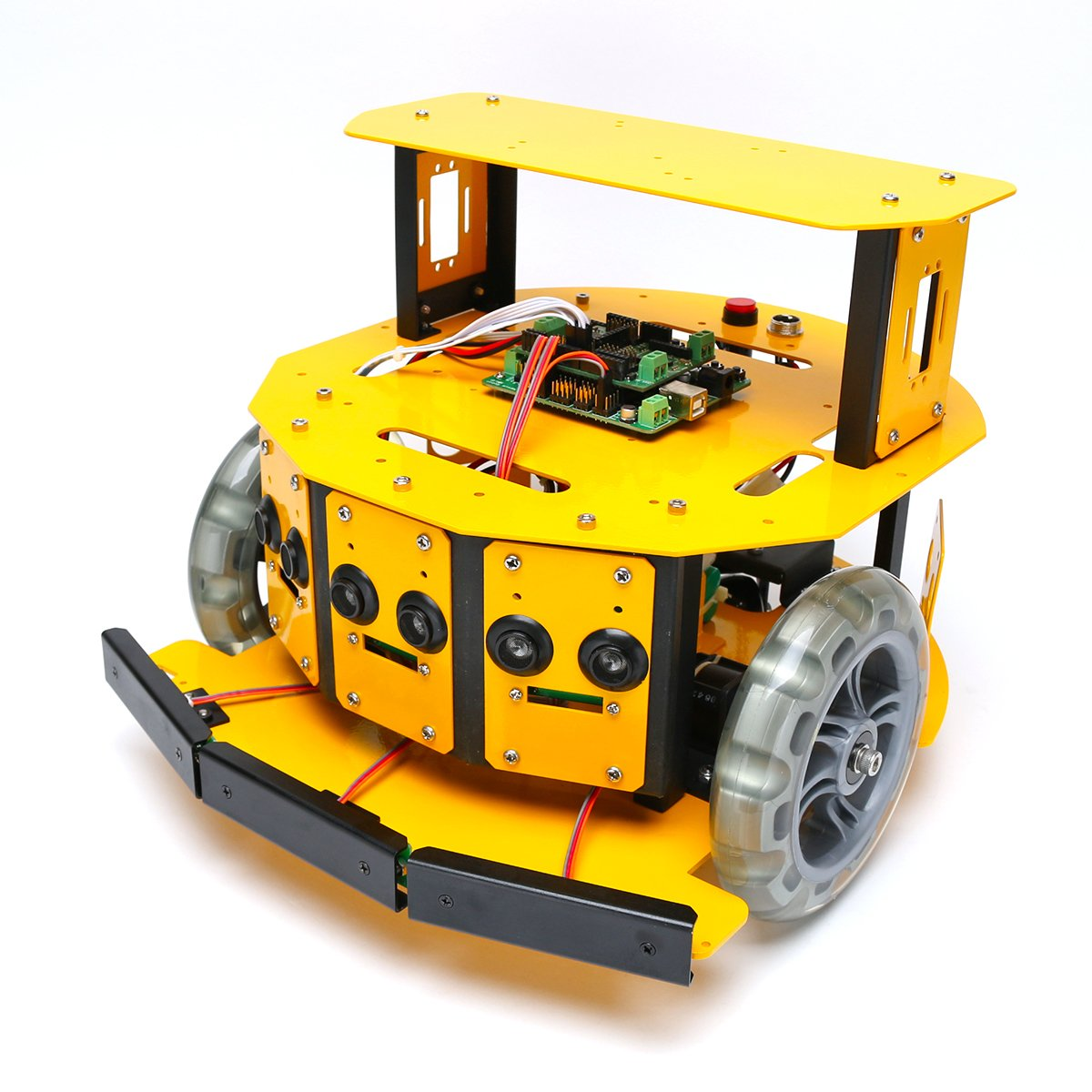 2WDモバイルロボット (10004) [台車ロボット研究開発]   B00DSW2P9G