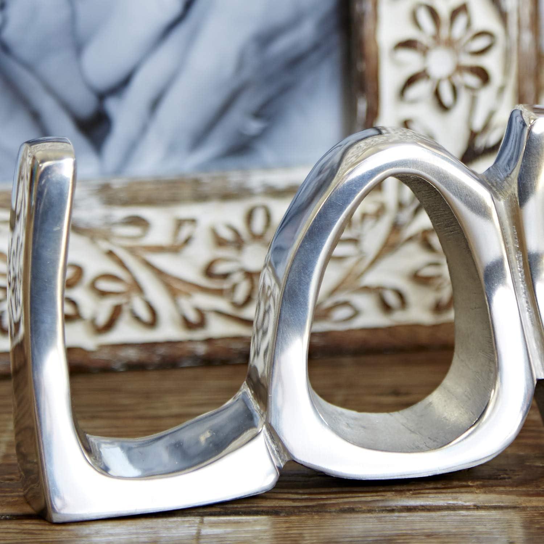 D/écoration Lettres en Acier Inoxydable Amour /«Love/»