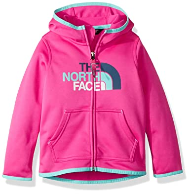 6e9203959 Amazon.com  The North Face Toddler Surgent Full Zip Hoodie - Azalea ...