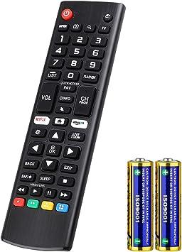 Universal Mando a Distancia para LG Smart TV AKB75095308 AKB74915324 Compatible con todos Mando a Distancia de LG tv: Amazon.es: Electrónica