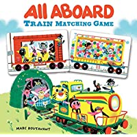 All Aboard Train Matching Game (Memory Matching Games for Adults and Toddlers, Matching Games for Kids, Preschool Memory…