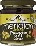 Meridian Organic Pumpkin Seed Butter 170 g (Pack of 3)