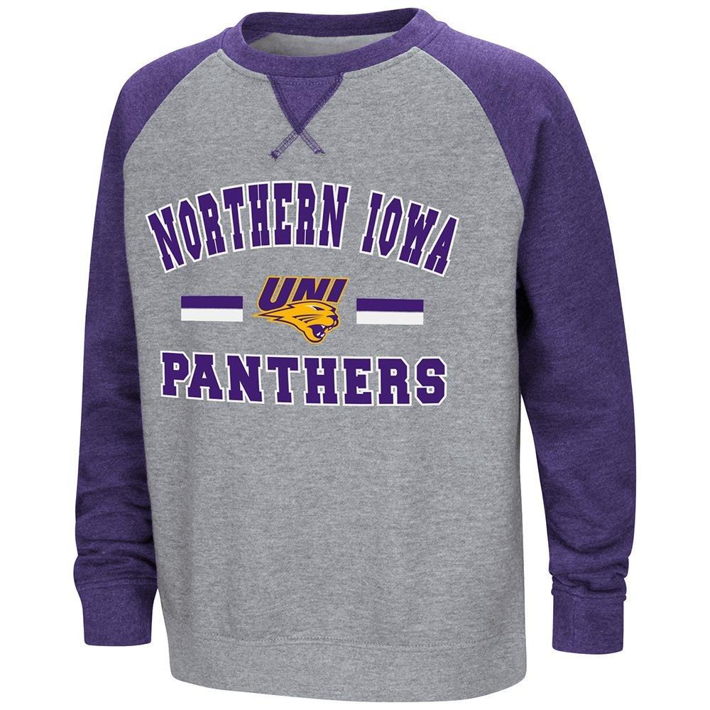 Colosseum ユース UNI Northern Iowa Panthers フリース クルーネック スウェットシャツ B07DWMHBT5   X-Large (20)