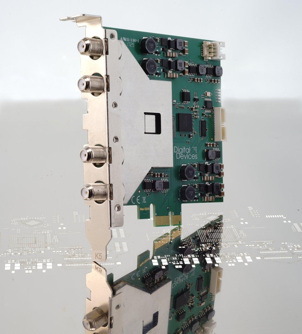 Digital Devices Max SX8 - Full de espectro (fbc-10) 8 Tarjeta ...