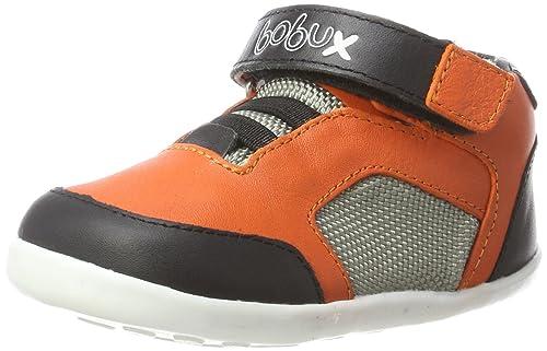 aff69e3ff2436 Bobux 460783 - Zapatilla Deportiva de Cuero niño  Amazon.es  Zapatos y  complementos