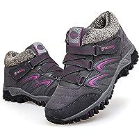 gracosy Mujer Botas de Nieve Senderismo Zapatos Antideslizantes