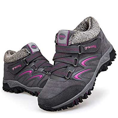 Hiver En Filles De Femme Gracosy Sports Neige Bottes Chaussures UZqWpa