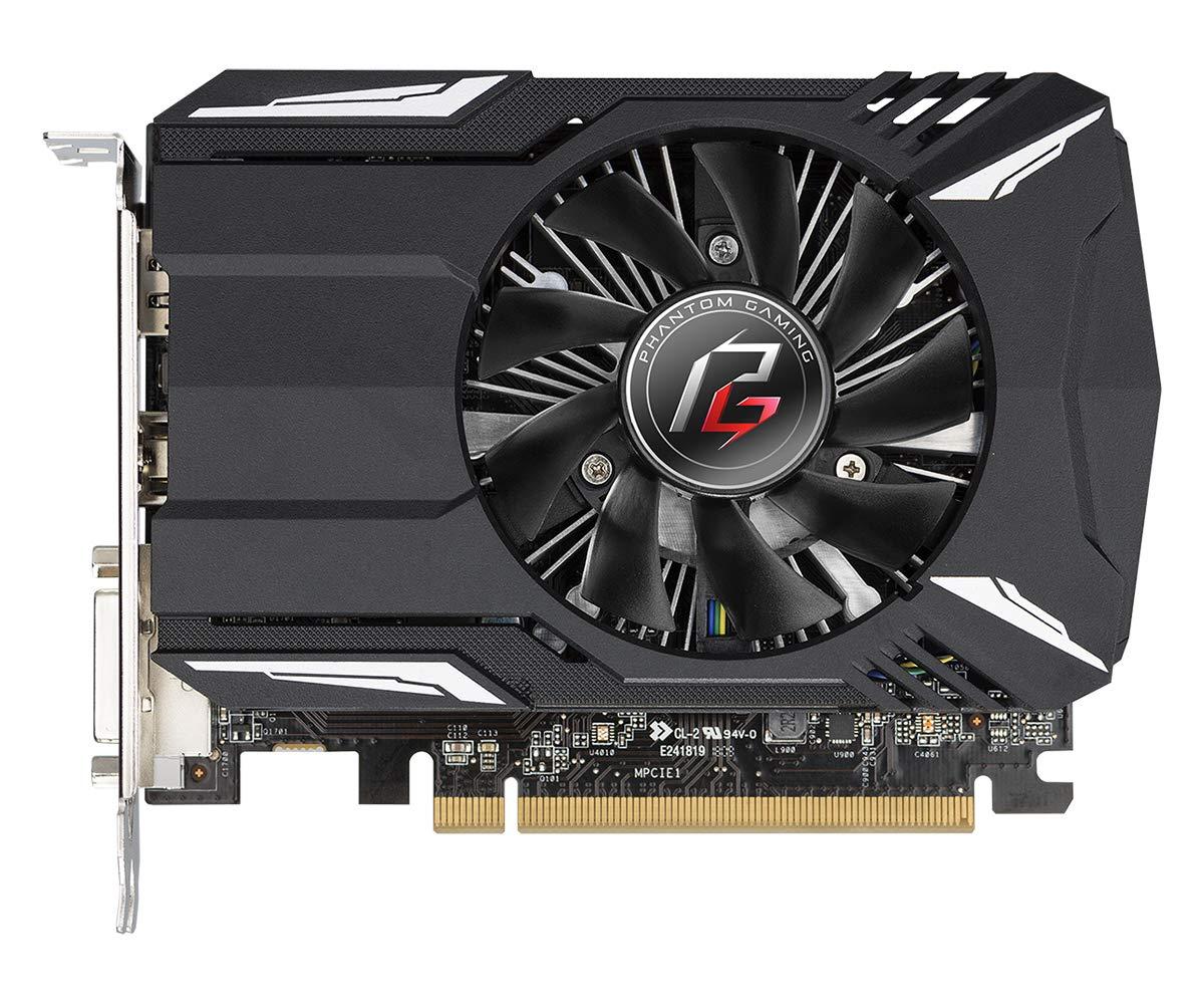 ASRock Phantom Gaming Radeon RX 550 DirectX 12 RX550 2G 2GB 128-Bit GDDR5 PCI Express 3.0 x16 HDCP Ready Video Card