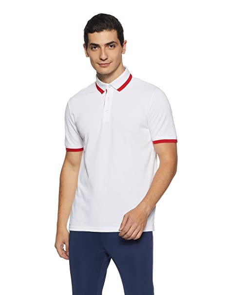 Men s Polo Shirt  Amazon.in  Clothing   Accessories b3aeab376