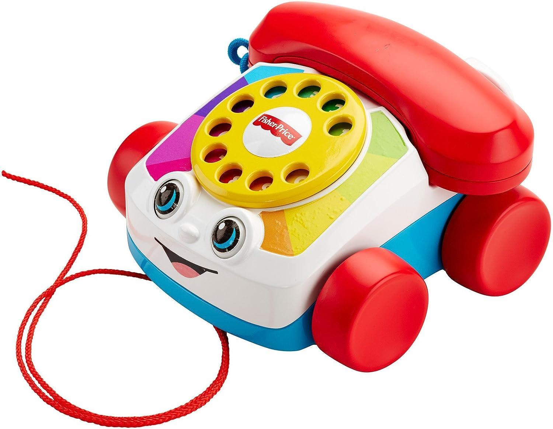 Holzspielzeug Beeboo Baby Nachzieh Telefon
