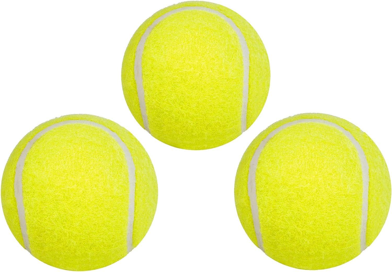 Hudora - Pelotas de Tenis (Pack de 3): Amazon.es: Juguetes y juegos