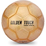 SKLZ Golden Touch Weighted Soccer Technique Training Ball, Size 5