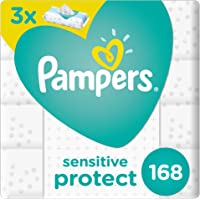 Pampers Sensitive Wipes, 168 Count