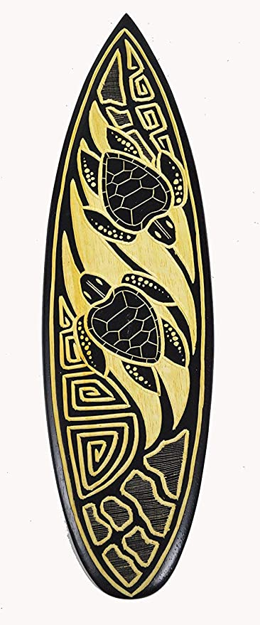 Ruskin352 - Placa Decorativa de Pared para Tablas de Surf, 20 Unidades, diseño de