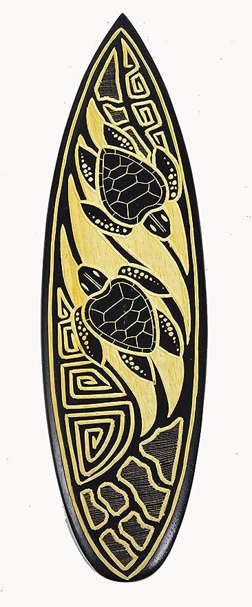 Ruskin352 - Placa Decorativa de Pared para Tablas de Surf, 20 Unidades, diseño de