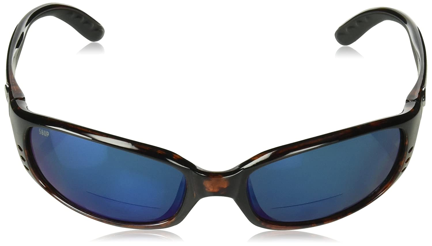 Direct BR10OBMP2.50 Costa Del Mar Brine C-Mate 2.50 Sunglasses Tortoise Blue Mirror 580P Lens Pro-Motion Distributing