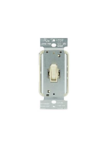 Legrand - Pass & Seymour T603IV 3 Way Dimmer Switch, 600-watt Toggle ...