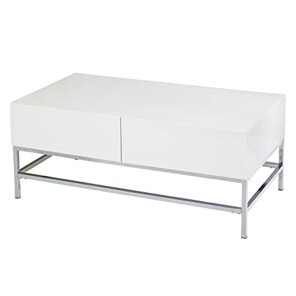178cfeec043 Amazon.com  Target Marketing Systems 72402WHT Coffee Table White  Kitchen    Dining