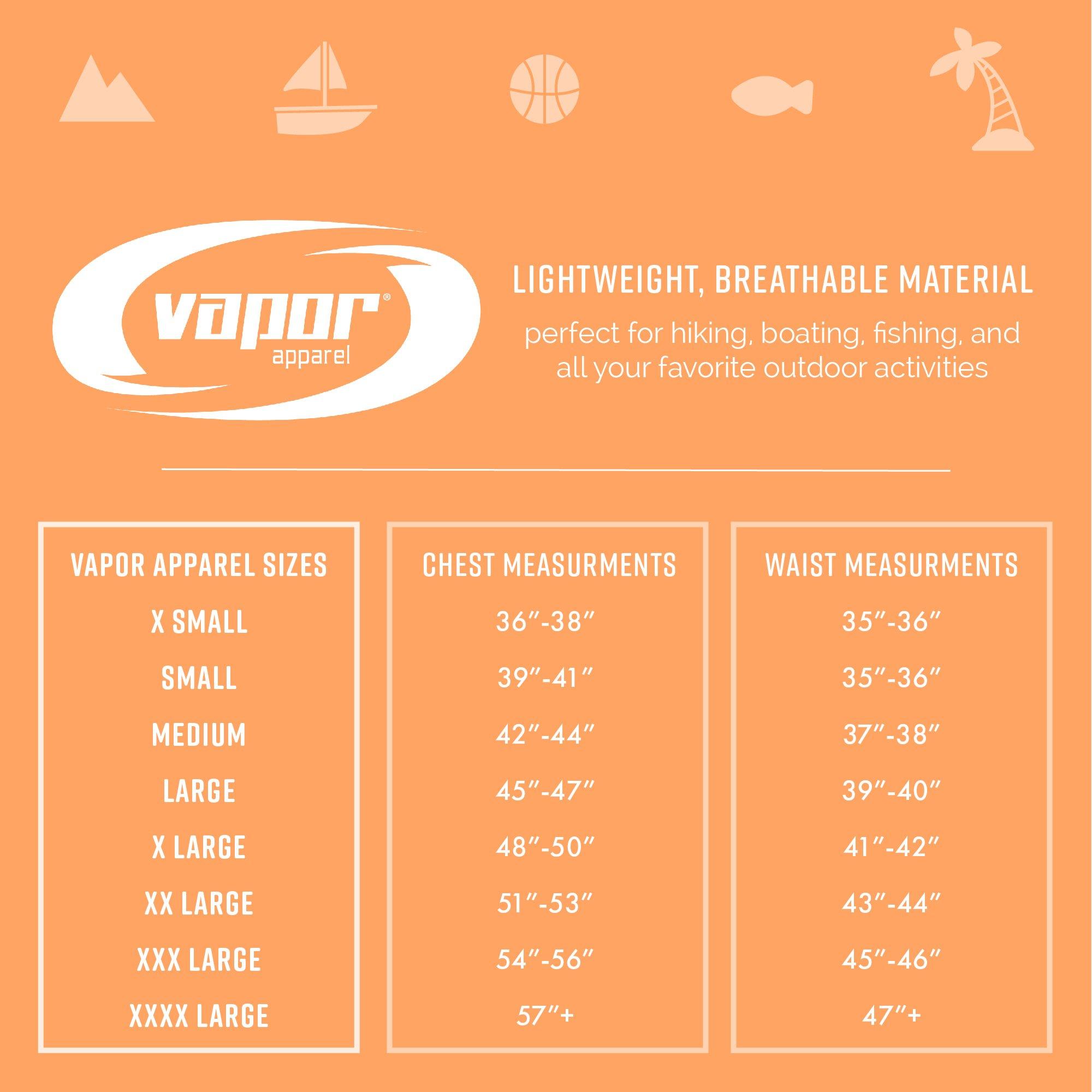 Vapor Apparel Men's UPF 50+ UV Sun Protection Performance Long Sleeve T-Shirt X-Large Pearl Grey by Vapor Apparel (Image #4)