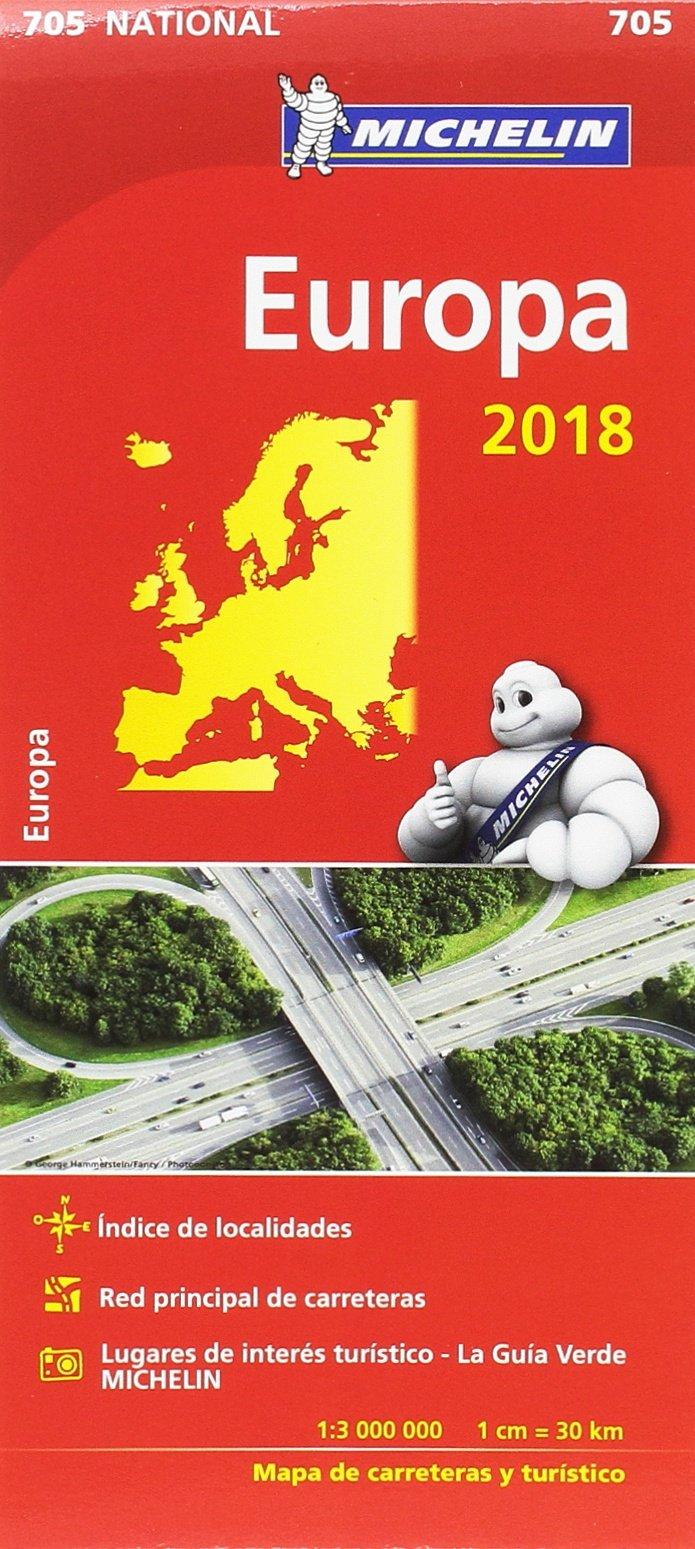 Mapa National Europa Mapas National Michelin Amazon Es Vv Aa