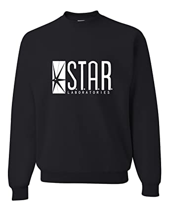 Amazon.com: Adult Star Labs Sweatshirt Crewneck By Go All Out ...