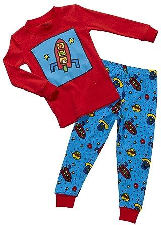 565b58f99 Amazon.com  Sara s Prints Boys  Snug Fitting Pajamas Outer Space ...