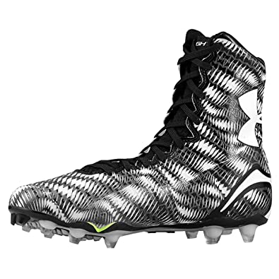 1f7c1b2b82dd Under Armour Men's Highlight MC Football Cleats Black/White Size 11.5 ...