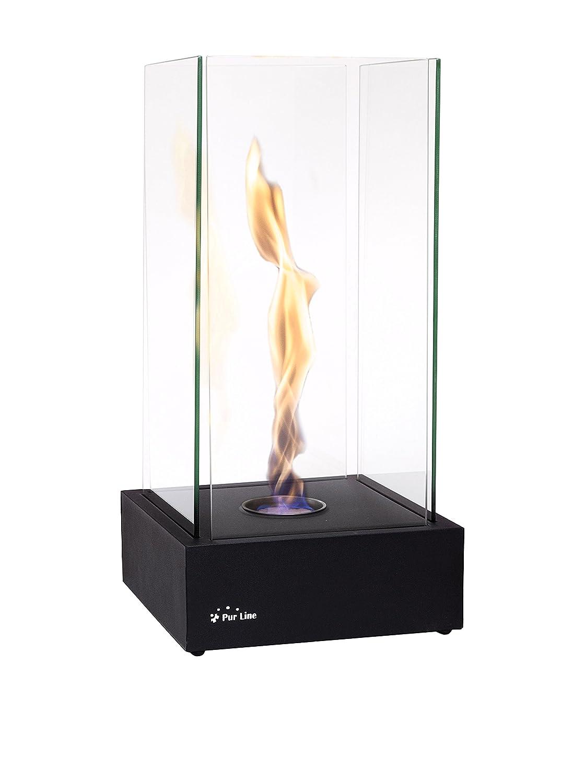 Purline TORNADO - Caminetto a etanolo da tavolo con fiamma effetto tornado, 2000W 8436545090671