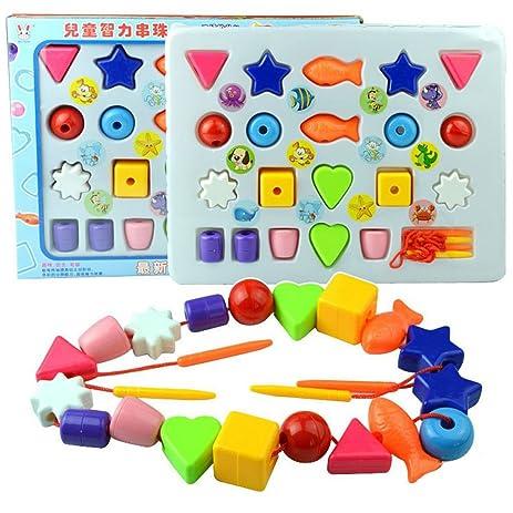 Amazon Com Children S Intelligence Beaded Baby Educational Toys