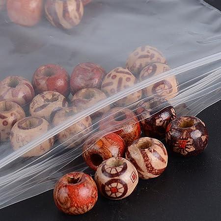 DEOMOR 100pcs Bolsas de Pl/ástico Transparente con Cierre Zip para Alimentos Galletas Caramelos Bombones Regalos Joyer/ías Boda Navidad Fiesta Espesor 0,1mm 10 * 15cm