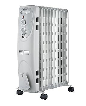 Haverland NYEC11 - Radiador de aceite, termofluido c/ruedas, 2300W