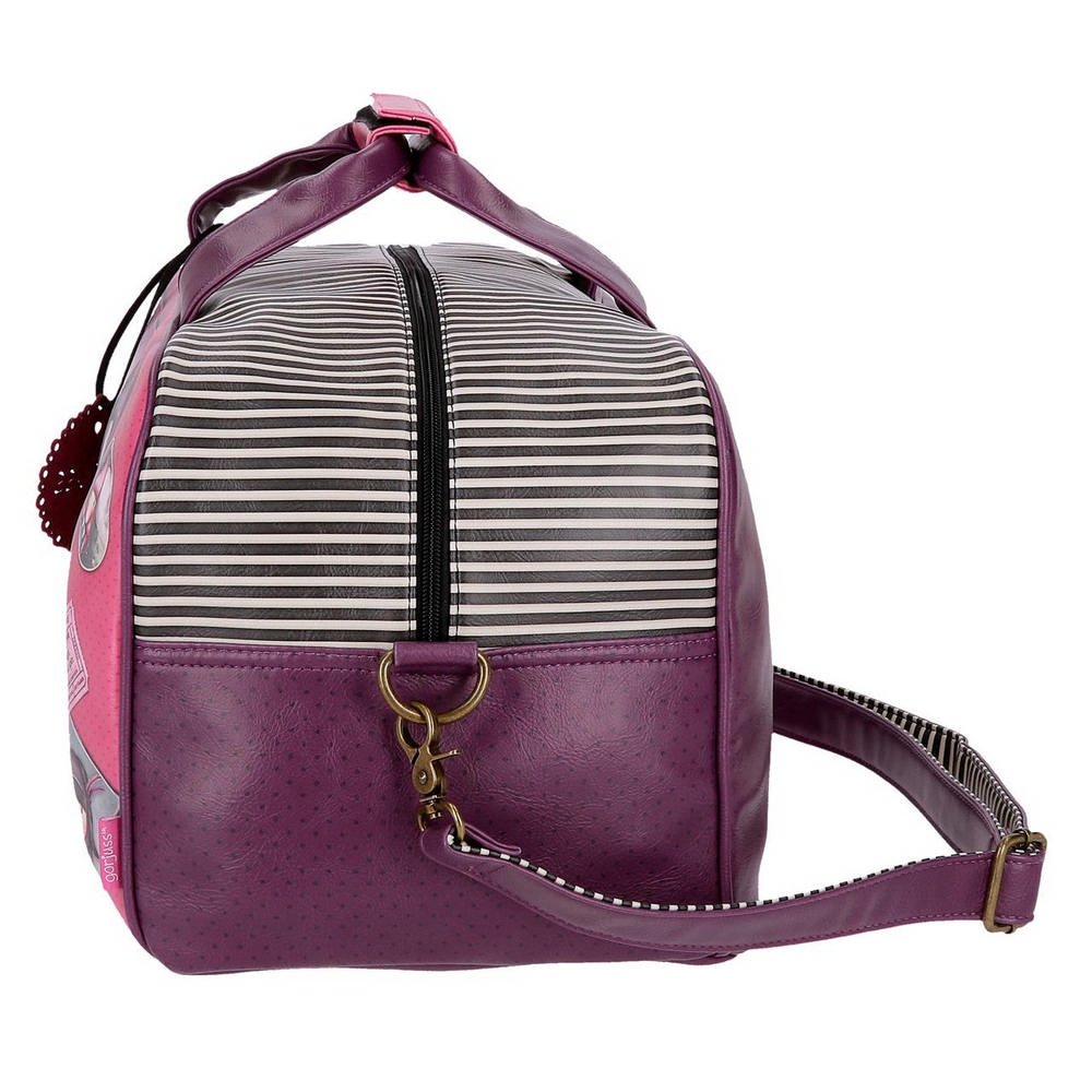 Gorjuss Sugar and Spice Bolsa de Viaje, 45 cm, 28.13 litros, Morado: Amazon.es: Equipaje