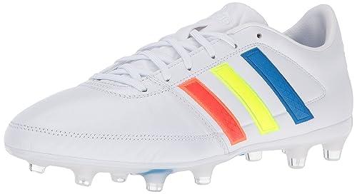 new product 11274 7ff7e adidas Mens Soccer Gloro 16.1 Firm Ground Cleats, Vivid RedRunning  WhiteBlack