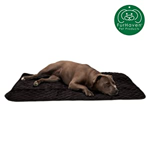 Furhaven Pet Dog Bed Mat Insulated Self-Warming Pet Bed Mat