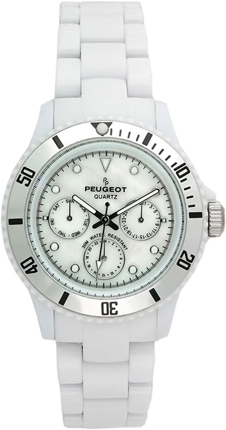 Peugeot Women Multifunction Sport Watch