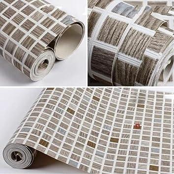 Moderne Minimalistische Pvcwallpaper Drei Dimensionale Tief