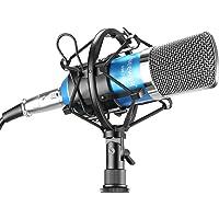 Neewer NW-700 Ensemble de Microphones à Condensateur pour Studio de Diffusion et d'Enregistrement comprenant ( Bleu)