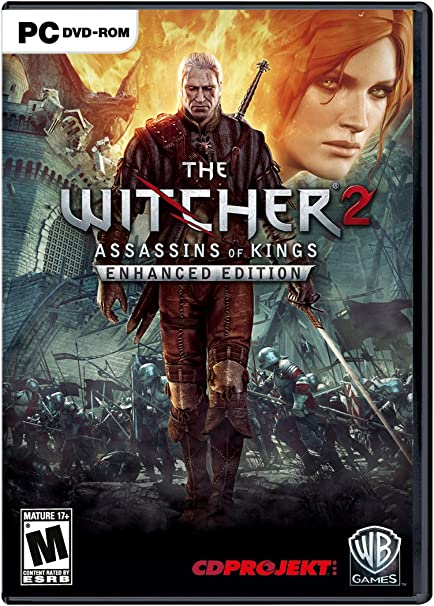 Amazon Com The Witcher 2 Assassins Of Kings Enhanced Edition Video Games