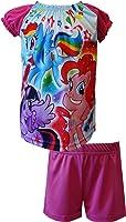 My Little Pony Rainbow Dash Twi Sparkle Pinkie Shortie PJ for Little Girls