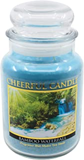 product image for A Cheerful Giver Bamboo Waterfalls Jar Candle, 24-Ounce