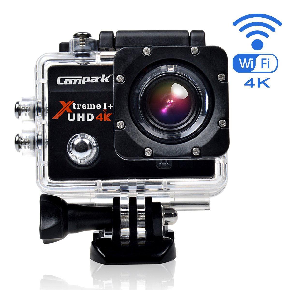 xtreme uhd 4k wifi ultra hd waterproof sports action camera time lapse and slow. Black Bedroom Furniture Sets. Home Design Ideas