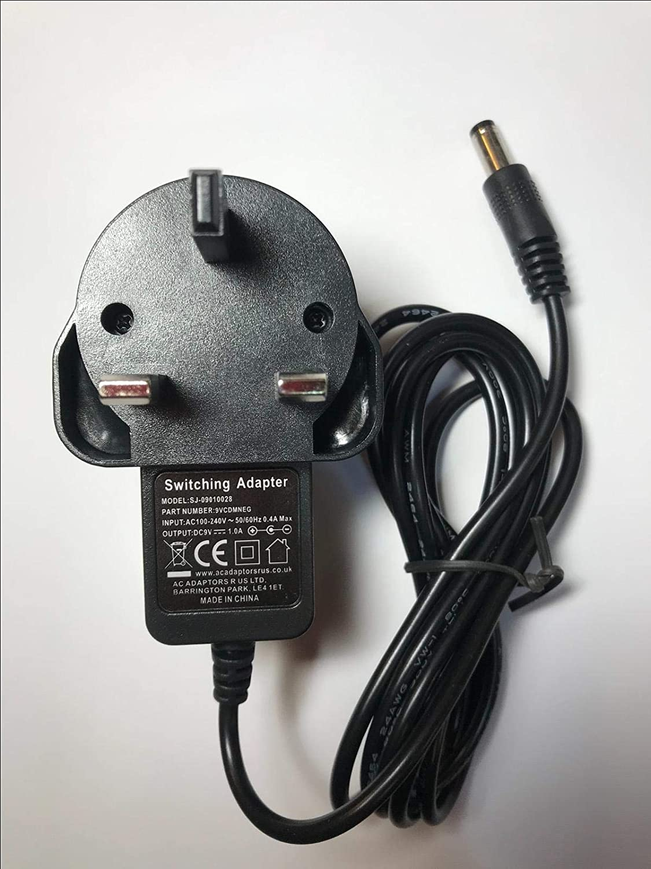 9V Negative Polarity AC-DC Adaptor for DL4 Effects Pedal DM4